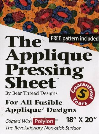 Applique Pressing Sheet (By Bear Thread Designs) - 18 X 20 Rolled