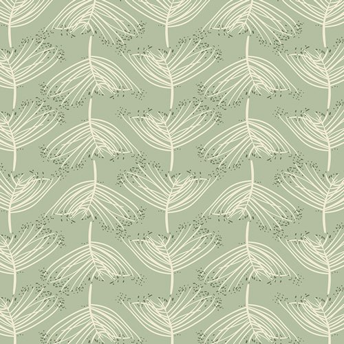 Forest Floor by Bonnie Christine for Art Gallery Fabrics - Laced Moss