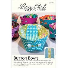 Lazy Girl Designs - Button Boats Pattern