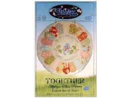 Chitter Chatter Together Applique Pillow Pattern