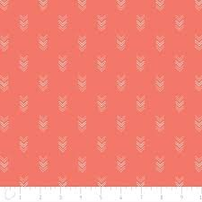 Happy Thoughts by Alissa Courter for Camelot Fabrics -  Floral in Tandoori #2240804.03