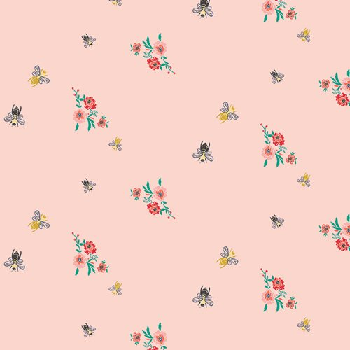 Millie Fleur by Bari J for Art Gallery Fabrics - Bees and Bits Mellow