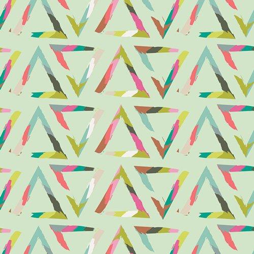 Chalk and Paint by Caroline Hulse for Art Gallery Fabrics - Triangle Brush Varnish