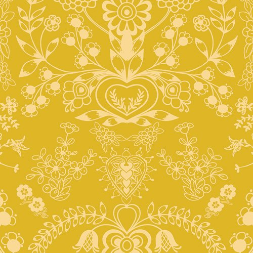 Essentials II by Pat Bravo for Art Gallery Fabrics - Floralism Gold