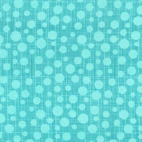 Hash Dot by Michael Miller - Hash Dot Aqua