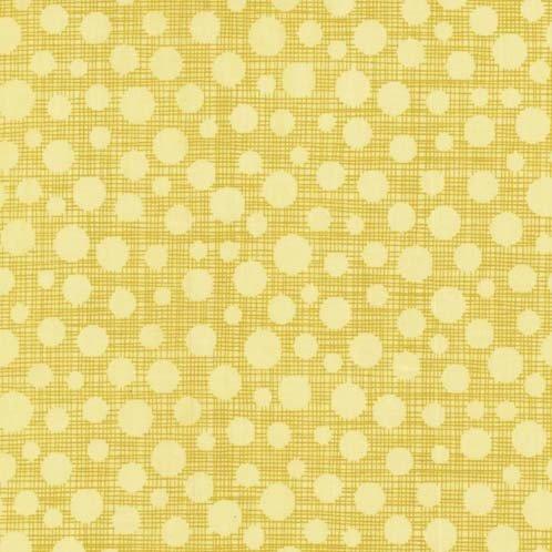 Hash Dot by Michael Miller - Hash Dot Yellow