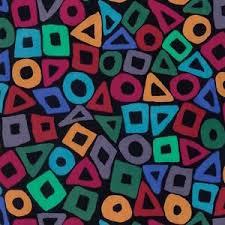 Kaffe Fassett - Puzzle - Purple for Free Spirit Fabrics #PWBM057