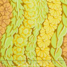 Kaffe Fassett Fall 2014- Serpentine - Yellow for Rowan Fabrics #PWGP145