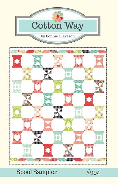 Cotton Way by Bonnie Olaveson - Spool Sampler #994