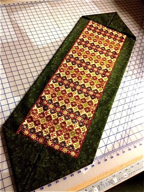 Ten Minute Table Runner Pattern And Pics