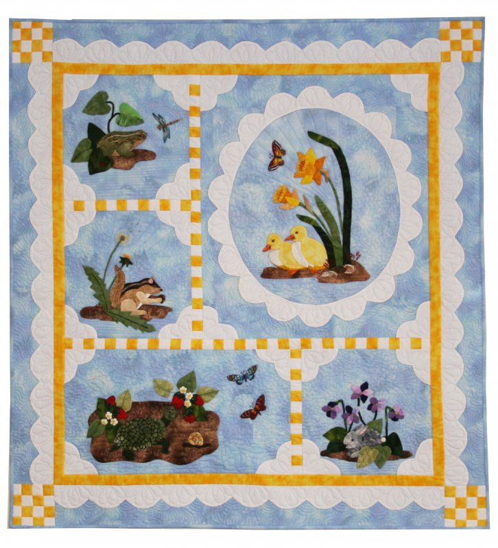 Garden Walk Fabric Kit