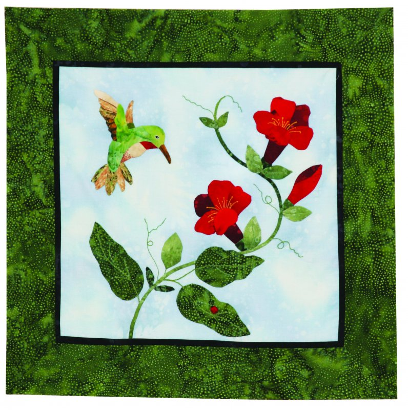 Hummingbird Delight Fabric Kit