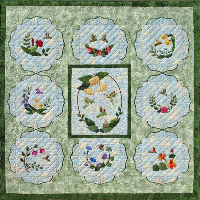 Hummingbird Haven Pattern Set