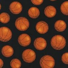 Fabric Basketballs Black