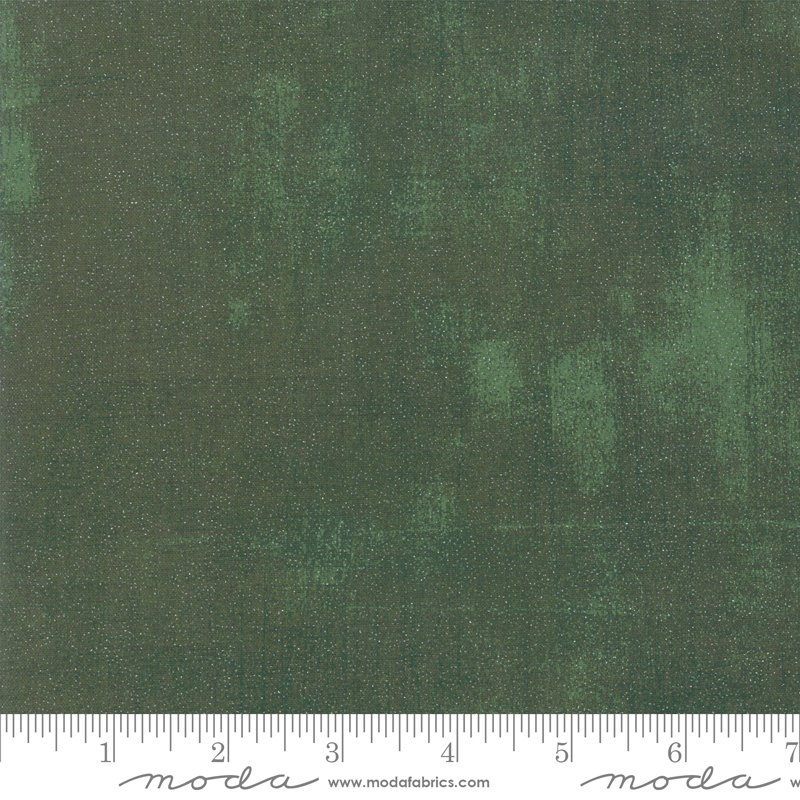 Grunge Glitter - winter spruce (pine tree green)