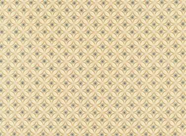 Cottage Basics - diamonds on beige