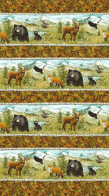 Mountain Springs - Wildlife - repeating stripe