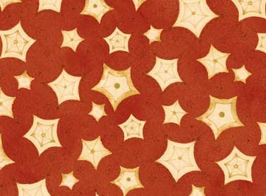 Sew Nice To Be Home - stars on red