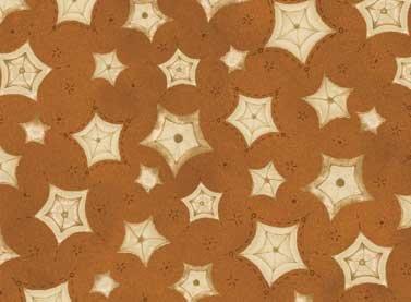 Sew Nice To Be Home - stars on rust