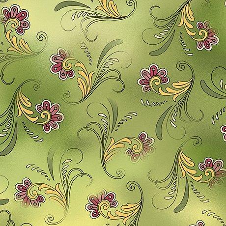 Sophia - Paisley - green
