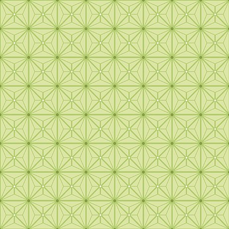 Sophia - Diamond Geo Patch - green