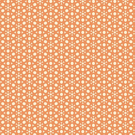 Sophia - dot geo - orange