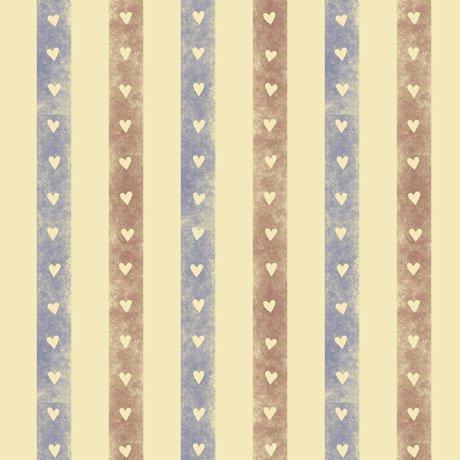 Home Sweet Gnome - stripes on tan
