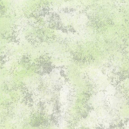 Serene Spring - shiny objects - frozen leaf (green)