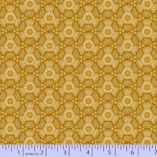 Old Sturbridge Christmas - gold pattern on gold