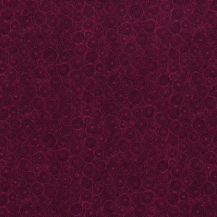 Hopscotch - intertwining puddles jelly - burgundy