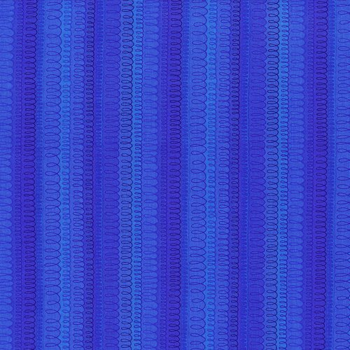 Hopscotch - loop-de-loop - electric blue