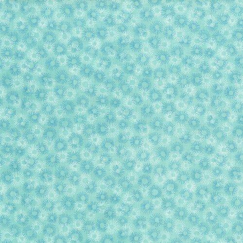 Hopscotch - deconstructed dandelions - splash - light blue