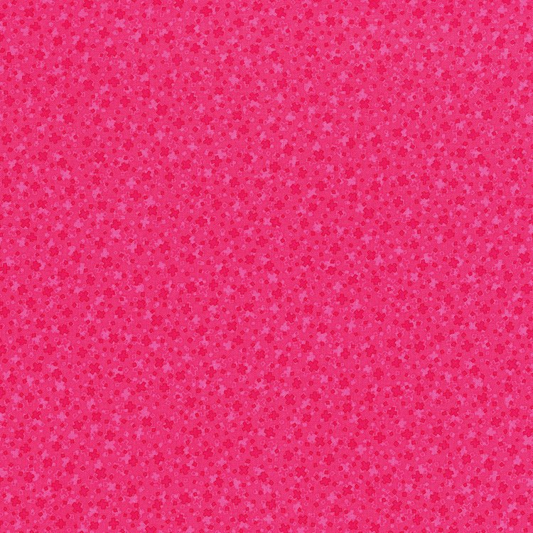 Hopscotch - square dance - hot pink