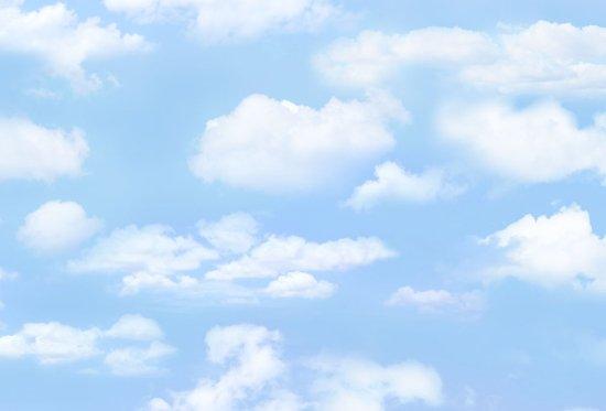 light blue skies