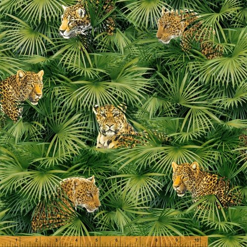 Jungle Minies - leopards in the jungle brush