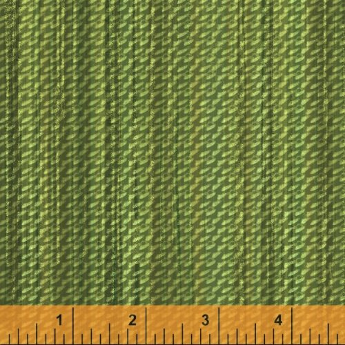 Jungle Minies - green tweedy