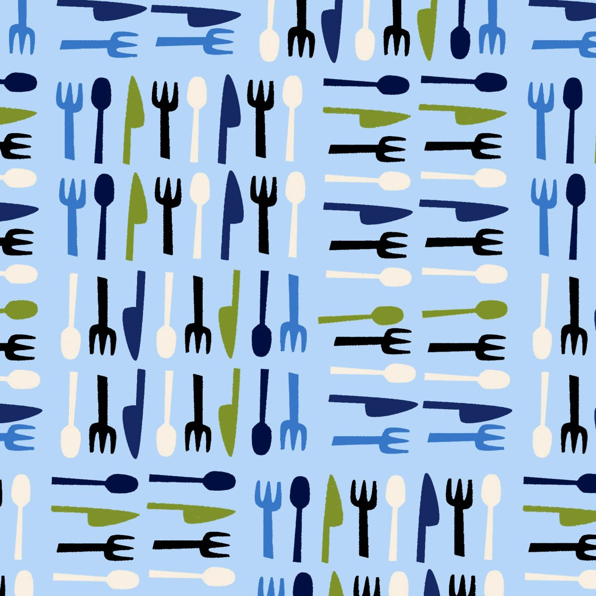 Open 24 Hours - knife, spoon and fork sets