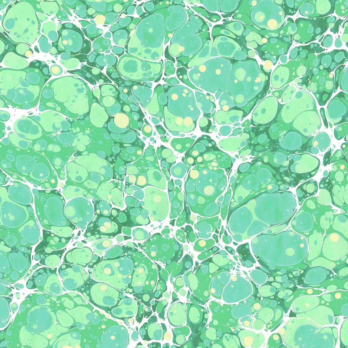 Magic Fountain - green granite