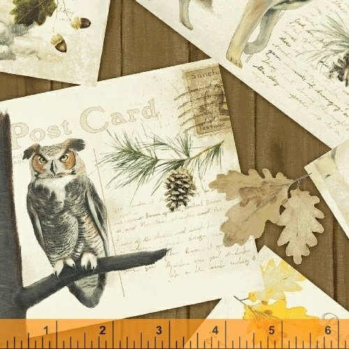 Northwoods - animal postcards