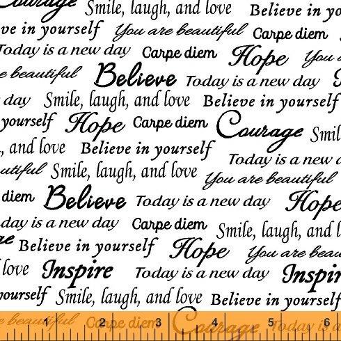 Sew Hope Full - encouraging words