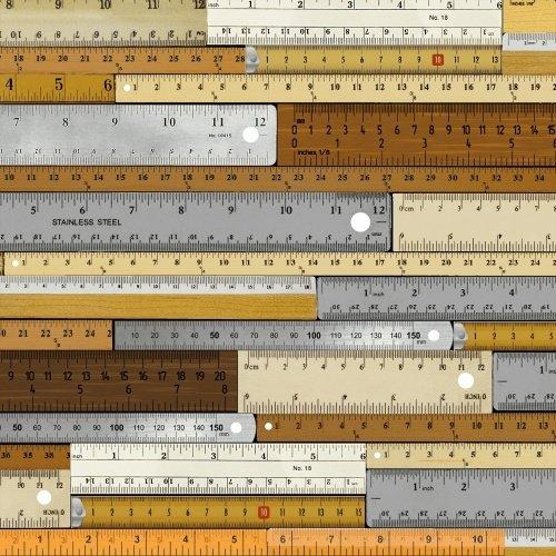 Measure - tape measures - bronzes & grays