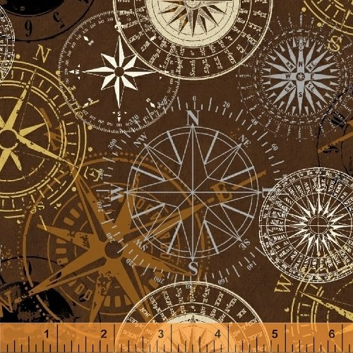 Measure - compasses on browns