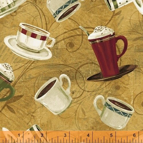 International Coffee - scattered coffee cups