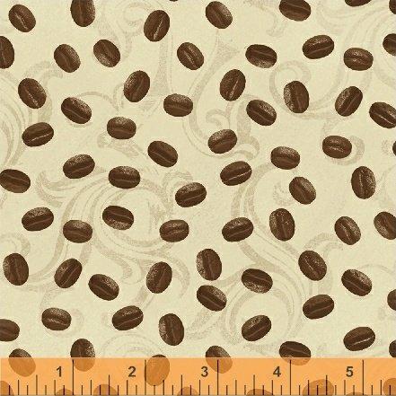 International Coffee - coffee beans on tan