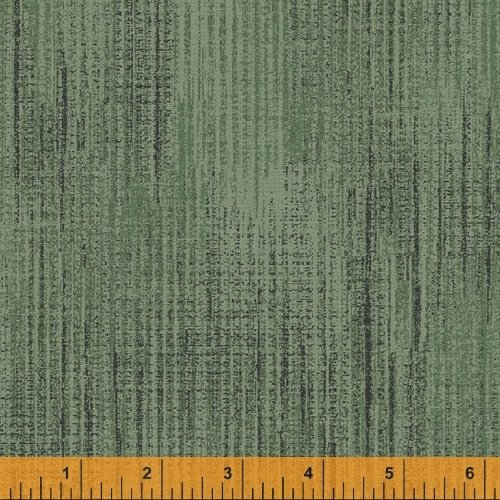 Terrain - flannel - textured print - light green (serpent)