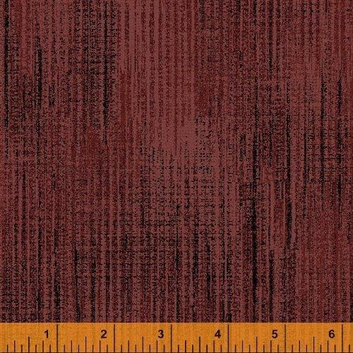 Terrain - flannel - textured print - red - (cardinal)