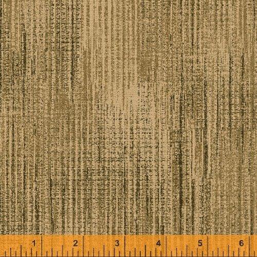 Terrain - flannel - textured print - yellow/gold (ochre)