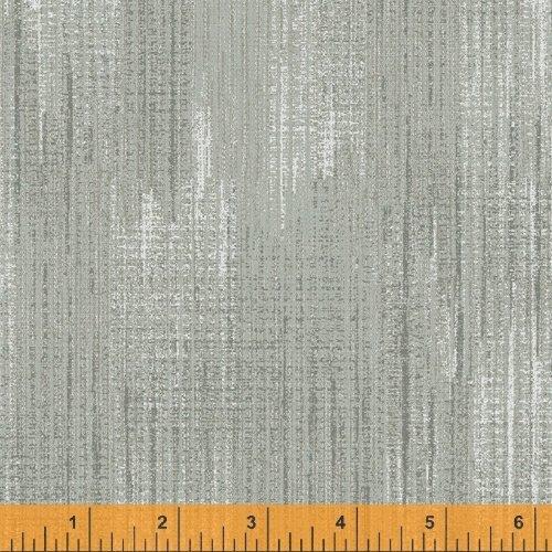 Terrain - flannel - textured print - light mossy green - (mist)