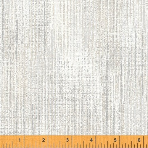 Terrain - flannel - textured print - cream (luna)