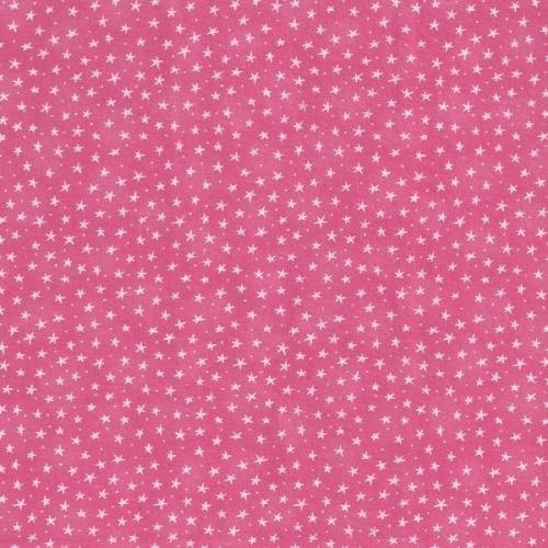 Starlet - coral - with small stars